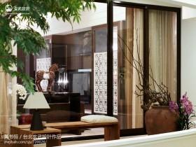 中式风格家庭屏风装修