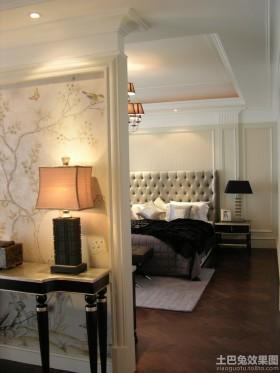 欧式风格隔断欧式卧室隔断墙装修效果图片