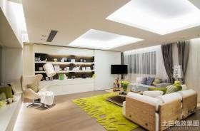 简约风格样板房室内设计效果图