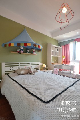 家庭儿童房装饰装修效果图
