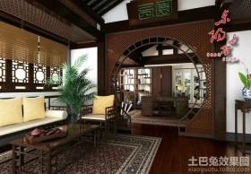 中式风格客厅屏风设计
