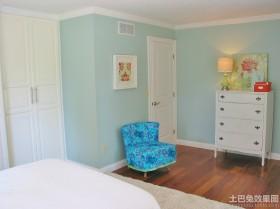 简欧风格卧室室内墙面漆效果图