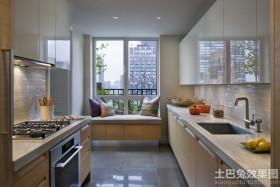 简约风格厨房样板间效果图欣赏