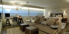 现代时尚家居卧室沙发效果图