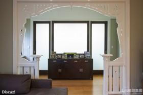 室内装修屏风隔断设计效果图欣赏