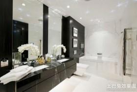 黑白卫生间装饰