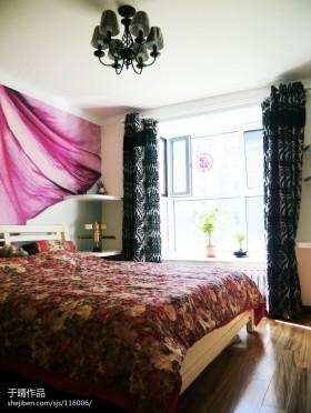 田园风格小户型卧室装修效果图2013图片
