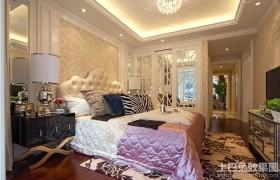 130平米装修样板房卧室装修效果图