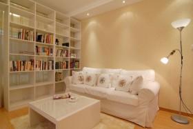 现代简约风格50平米小户型客厅装修效果图