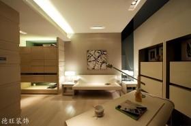 现代简约风格100平米二居书房装修效果图