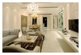 现代风格70平米小户型客厅装修效果图