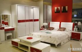 现代简约卧室家具套装组合图片