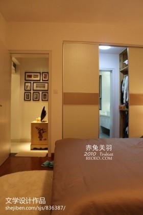 卧室房间门装修图片