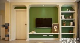 简单电视背景墙设计