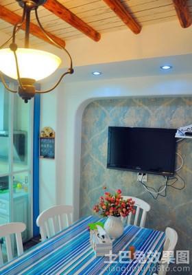 餐厅电视背景墙装修效果图欣赏