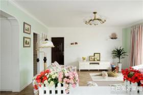 欧式田园家庭装修效果图大全2013图片