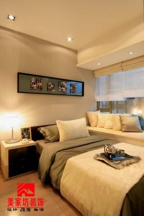现代简约风格两室两厅卧室装修效果图