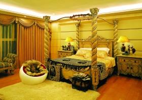 现代中式风格卧室装修效果图欣赏