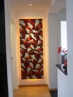 玄关背景墙装饰效果图片