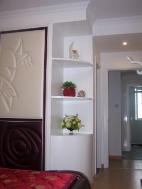 卧室拐角置物柜图片欣赏