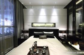 后现代风格卧室床头背景墙设计