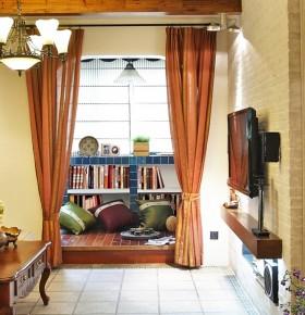 书房榻榻米地台装修效果图图片