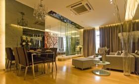 现代风格60平米小户型客餐厅装修效果图