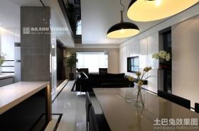 现代风格家装室内设计效果图
