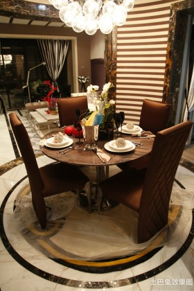 60平米小两居室餐厅装修效果图