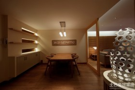 新中式二居装修样板间