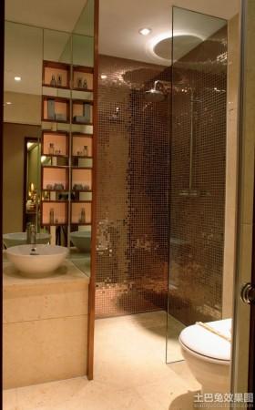 主卫生间马赛克瓷砖装修效果图片