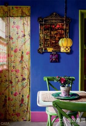 东南亚风格单身公寓小餐厅装修