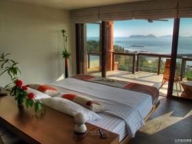 东南亚风格卧室阳台装修效果图欣赏