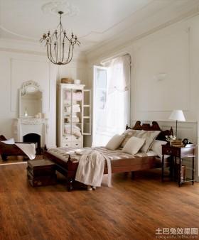 卧室原木色装修效果图
