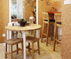 简约家装餐厅实木家具图片