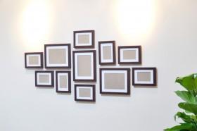 室内家居照片墙装饰效果图片