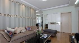 现代风格60平米小户型客厅设计效果图