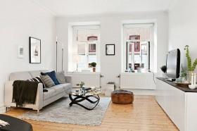 简约风格50平米小户型客厅装修效果图