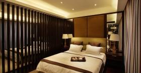 卧室床头软包背景墙装饰效果图
