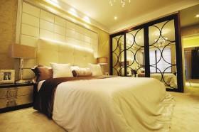 家装主卧室床头软包装修效果图