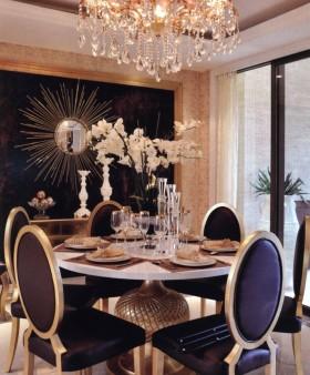 新古典风格餐厅装修效果图欣赏