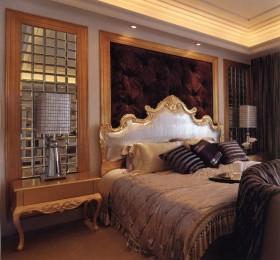 新古典欧式卧室装修效果图