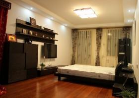 现代风格装修20平米卧室图片