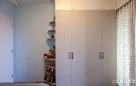 简约风格卧室壁柜装修效果图大全2013图片