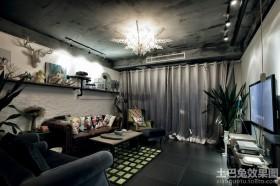 现代小户型客厅装修效果图片