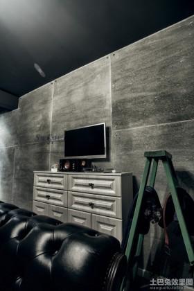 石材电视背景墙装修设计图片