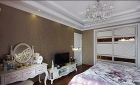 家庭卧室背景墙装修效果图