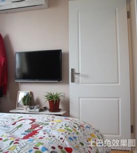 小户型卧室电视墙装修效果图片