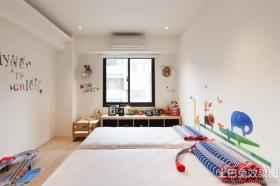 简约双人儿童房装修效果图