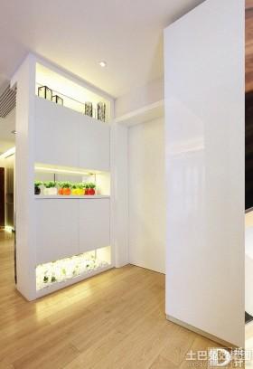 简约风格两室两厅玄关装修效果图